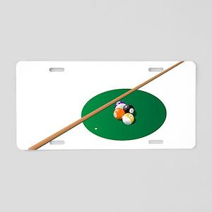 Pool - Pool Table Aluminum License Plate