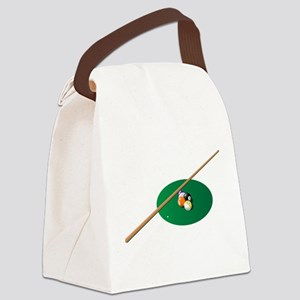 Pool - Pool Table Canvas Lunch Bag