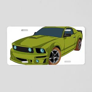 Racer - Car Aluminum License Plate