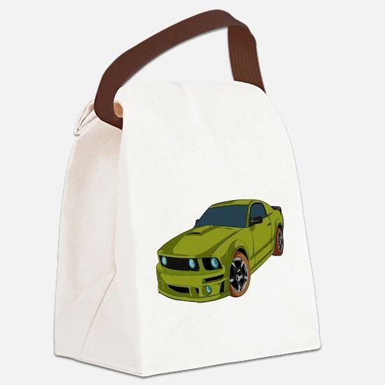Racer - Car Canvas Lunch Bag