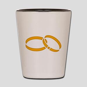 Wedding Rings - Marriage Shot Glass