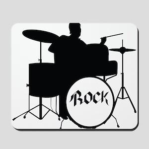 Rock Drummer - Musician Mousepad