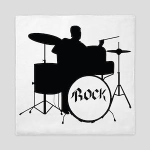 Rock Drummer - Musician Queen Duvet