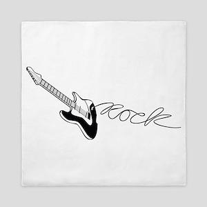 Rock Guitar - Music Queen Duvet