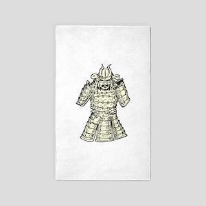 Samurai - Armor 3'x5' Area Rug