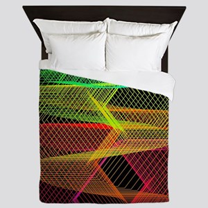 graphical game Queen Duvet