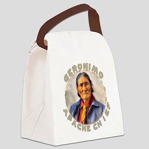 Geronimo, Apache Chief Canvas Lunch Bag