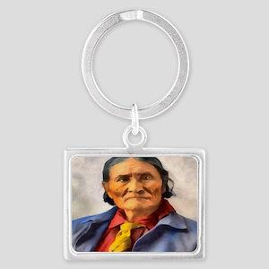 Geronimo, Apache Chief Landscape Keychain