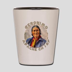 Geronimo, Apache Chief Shot Glass