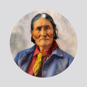 Geronimo Ornament (Round)
