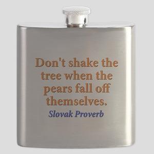 Dont Shake The Tree - Slovak Flask