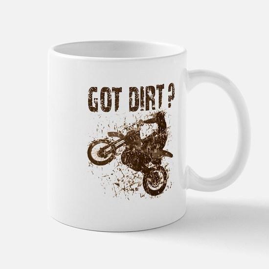 Motorcycle, dirt bike. Got Dirt? MX Mug