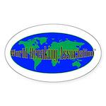 WBA Oval Sticker