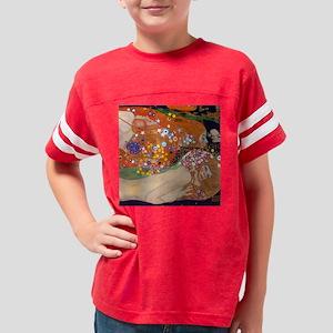 Gustav Klimt Water Serpents Youth Football Shirt