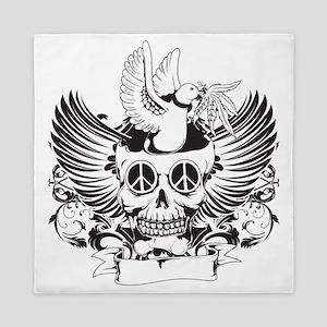 Skulls - Rock - Art Queen Duvet