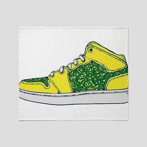 Sneaker - Shoe Throw Blanket