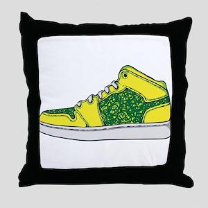 Sneaker - Shoe Throw Pillow