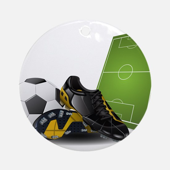 Soccer - Football - Sport Ornament (Round)