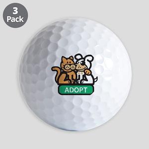Adopt Animals Golf Balls