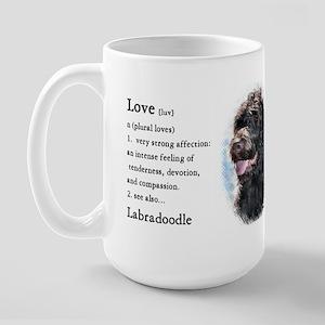 Labradoodle Gifts Large Mug