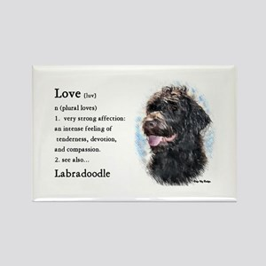 Labradoodle Gifts Rectangle Magnet (10 pack)
