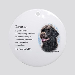 Labradoodle Gifts Ornament (Round)