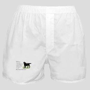 Flat-Coated Retriever Boxer Shorts