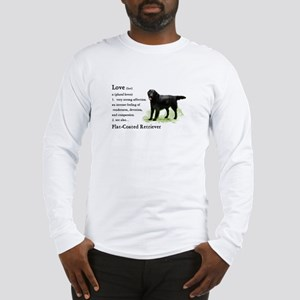 Flat-Coated Retriever Long Sleeve T-Shirt