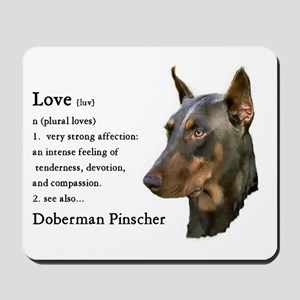 Doberman Pinscher Gifts Mousepad