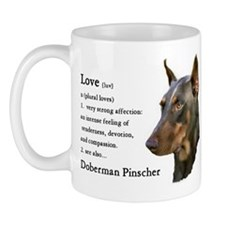 Doberman Pinscher Gifts Mug
