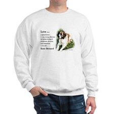 Saint Bernard Gifts Sweatshirt