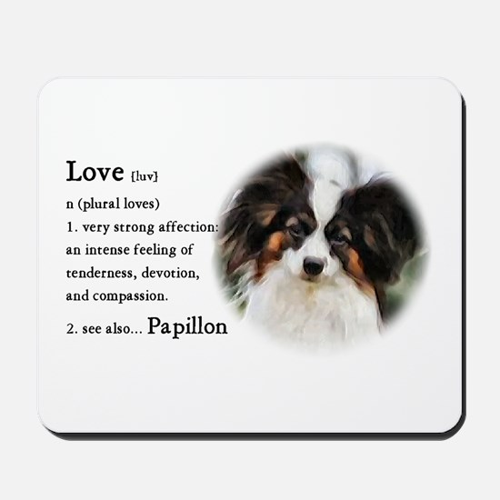 Papillon Gifts Mousepad