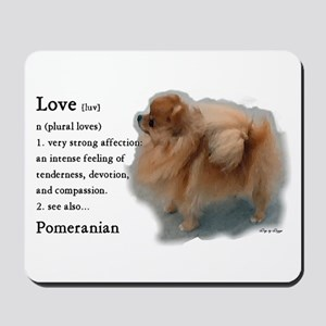 Pomeranian Love Mousepad