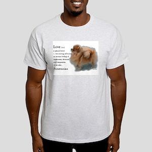 Pomeranian Love Light T-Shirt
