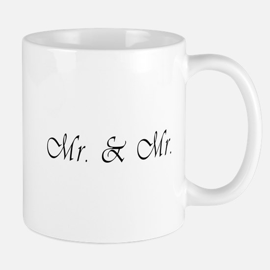 Mr. & Mr. - Gay Marriage Mug