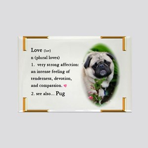 Pug Gifts Rectangle Magnet (10 pack)