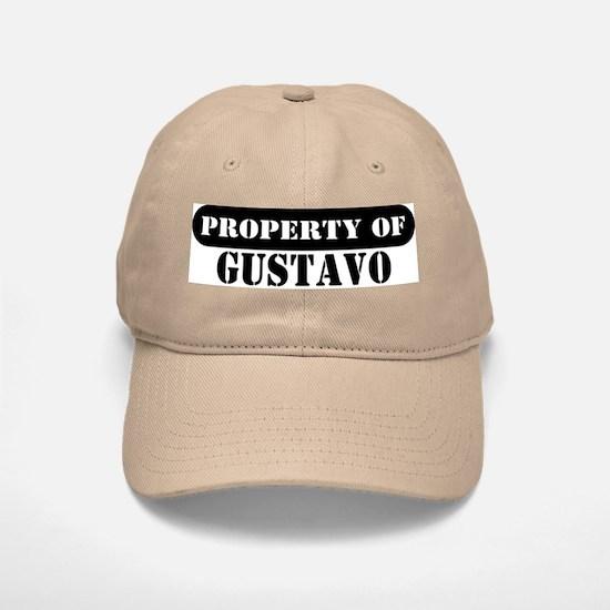 Property of Gustavo Baseball Baseball Cap