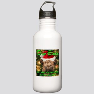 Dear Santa Hump Day Camel Peace on Earth Stainless