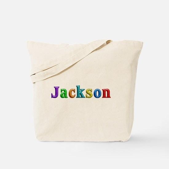 Jackson Shiny Colors Tote Bag
