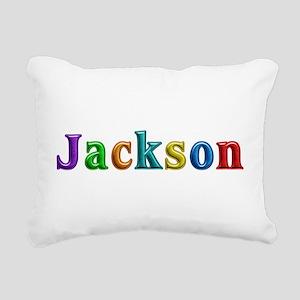 Jackson Shiny Colors Rectangular Canvas Pillow