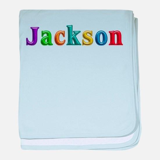 Jackson Shiny Colors baby blanket