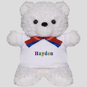 Hayden Shiny Colors Teddy Bear