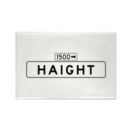 Haight St., San Francisco - USA Rectangle Magnet