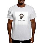 Real Bobcat Track Ash Grey T-Shirt