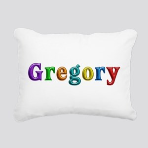 Gregory Shiny Colors Rectangular Canvas Pillow