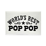 World's Best Pop Pop Rectangle Magnet
