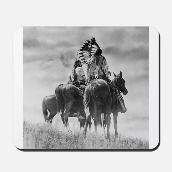 Mounted Warriors Mousepad