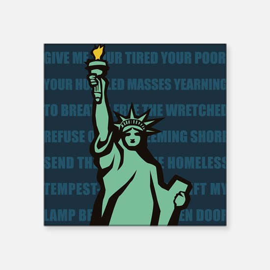Words of Liberty Sticker
