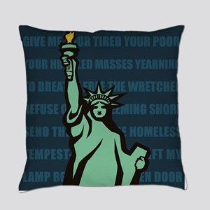 Words of Liberty Everyday Pillow
