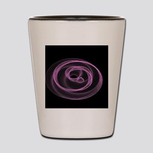 graphical game pink Shot Glass
